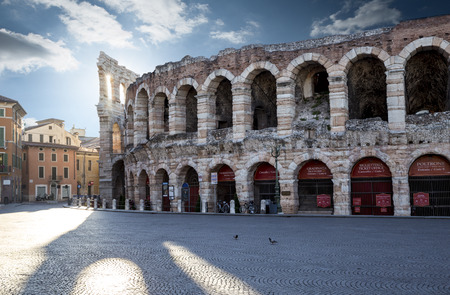 Arena in Verona city center