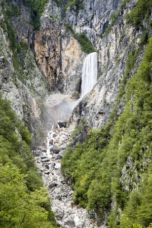 boka: Boka waterfall in Slovenia