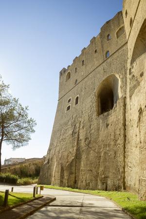 castel: Castel SantElmo fortress in Naples, Italy Editorial