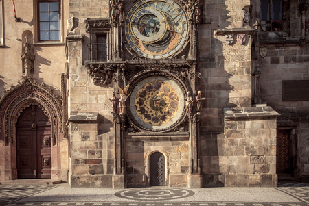 astronomical: Prague astronomical clock (Prague Orloj), Czech Republic