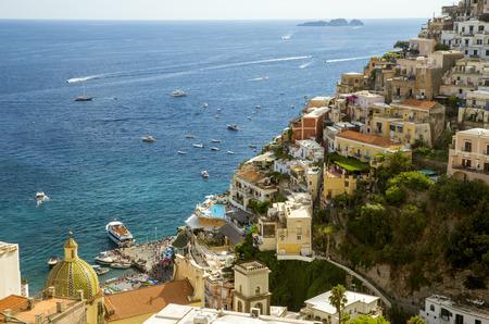 Positano town on Amalfi coast, Campania, Italy