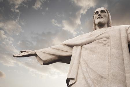Statue du Christ Rédempteur (Cristo Redentor) à Rio de Janeiro, Brésil