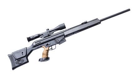 Sniper rifle Archivio Fotografico