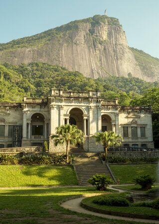 Rio de Janeiro, Brazil - December 16, 2017: Visual Arts School of Parque Enrique Lage in Rio de Janeiro, Brazil Редакционное
