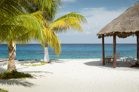 Beach on Cozumel island, Mexico