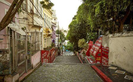 Colorful street in Rio de Janeiro, Brazil Foto de archivo - 129951767