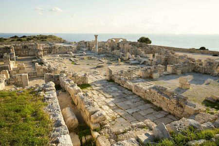 Ruins of Kourion ancient city near Limassol, Cyprus