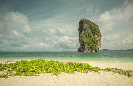 Poda Island in Krabi province, Thailand