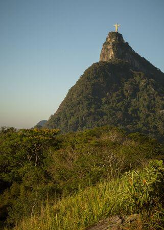 Corcovado mountain in Rio de Janeiro, Brazil