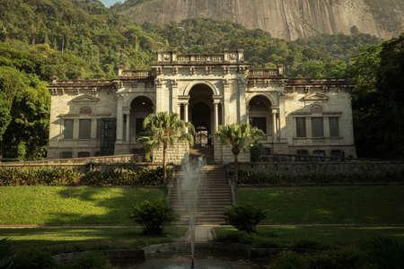 Rio de Janeiro, Brazil - December 12, 2017: Parque Enrique Lage in Rio de Janeiro city, Brazil