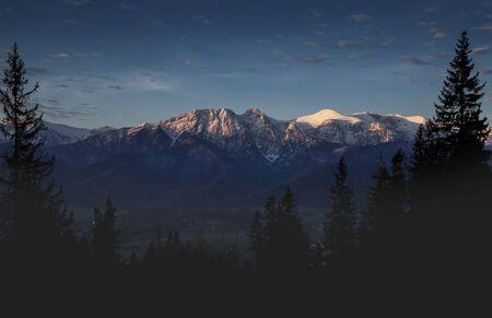 Giewont mountain in Zakopane, Tatra Mountains, Poland