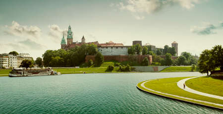 Royal wawel castle in Krakow, Poland 新闻类图片
