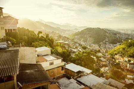 Morro da Coroa favela in Santa Teresa district of Rio de Janeiro, Brazil Фото со стока - 149479223