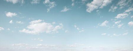 Beautiful blue sky with white clouds Фото со стока - 150314513