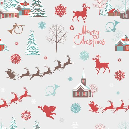 Background marry christmas decorative