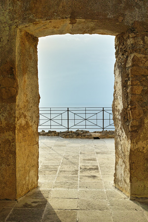 Entrance Area in Fiumefreddo Bruzio, Italy