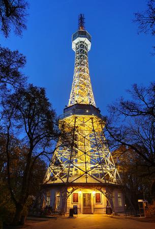 lookout: Petrin Lookout Tower, Prague, Czech Republic