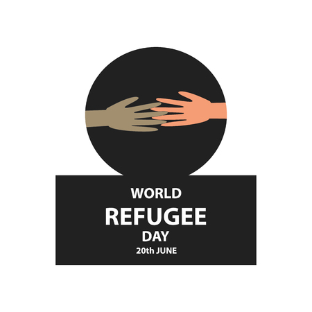 World refugee day. Ilustrace
