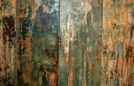 Background of the boards of the aged. Scratched Wooden board. Stock Photo