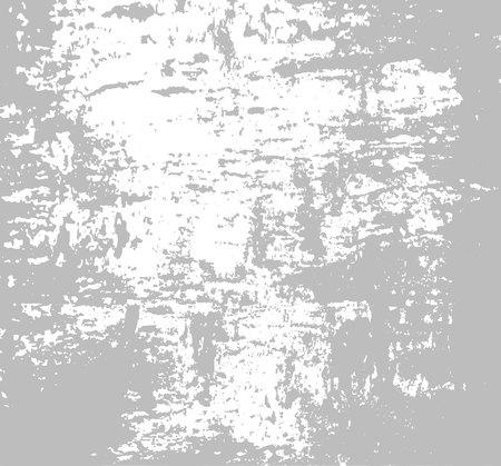 Texture grunge Gris blanc bandes de peinture. Illustration vectorielle