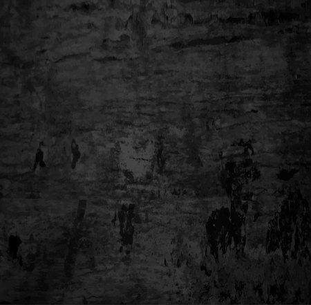 Texture grunge Blanc gris noir. bandes de peinture. Illustration vectorielle