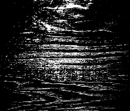 Grunge texture. A white spot scratched on a black background. Vector illustration