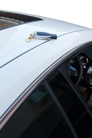 remote control car on white sport car photo