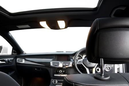 interior modern sport car Banque d'images