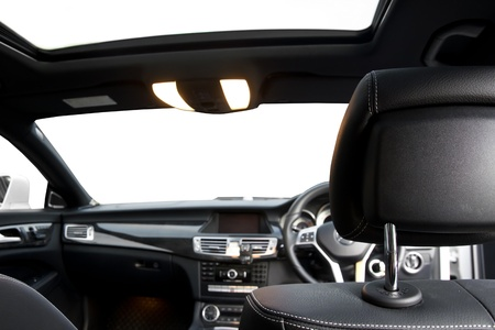 interior modern sport car photo