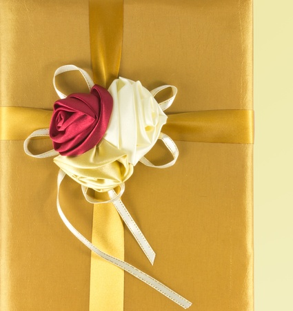 luxury gold give box photo