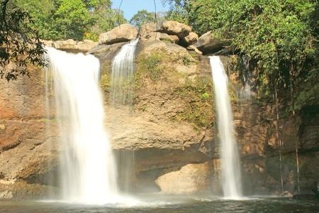 Waterfall haewsuwat, in kaoyai mountain, Thailand