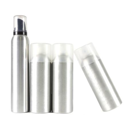 image many spray can on white Stockfoto