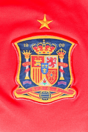 Logo spain on shirt photo