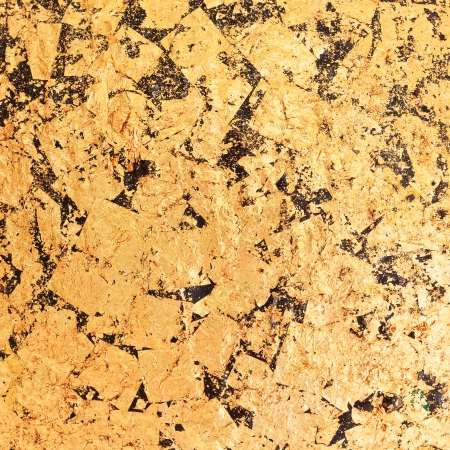 image background of abstract gold foil texture photo