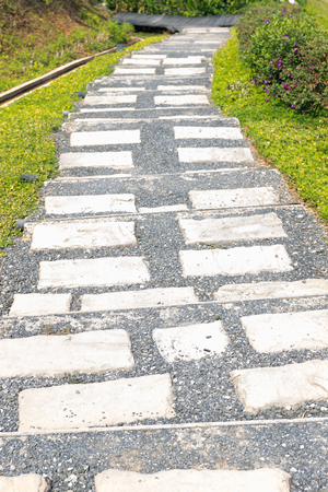 stone path: Background of stairway stone path.