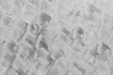 horizental: Abstract art black and white color paint in cement wall, horizental pattern background.