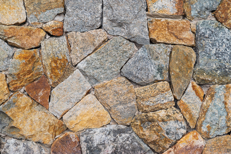 Close up big rock stone wall textured, patten background.