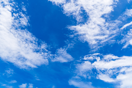 Blue sky and clouds background, cloudscape beautiful day concepts.