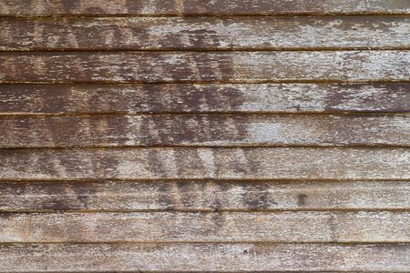 Background of Old wood board wall detail. Wooden interior texture. Close up vintage wood pattern concept background.