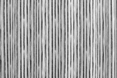 Black and white curtain background. Beautiful design with wavy lines in shades of gray for wallpapers and screensaver.