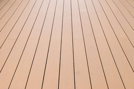 Close up. Old exterior wooden decking or flooring on the terrace. 版權商用圖片