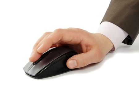 mus: hand med datormus
