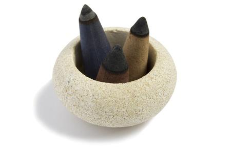 incense cones Stock Photo