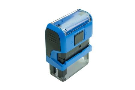 sigil: blue stamp