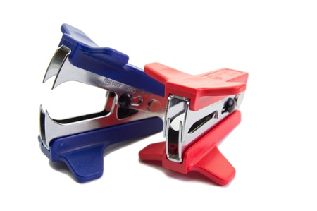 two staple removers