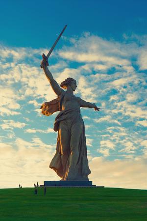 volgograd: motherland volgograd statue