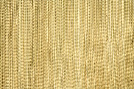 thatched mat Stock Photo