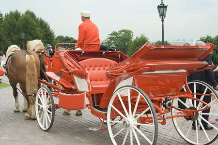 Wedding carriage
