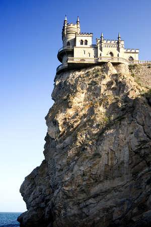 """Il famoso castello """"il Jack di una rondine"""" in Crimea"""