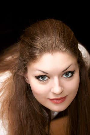 Portrait of the beautiful girl Stock Photo - 1566803